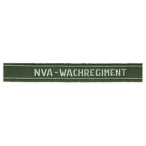 Nášivka páska NVA na rukáv 'WACHREGIMENT D.NVA'