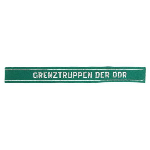 Nášivka páska NVA na rukáv GRENZTUPPEN DER DDR