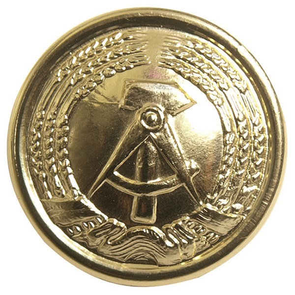 Knoflík NVA GENERAL s emblemem 20 mm