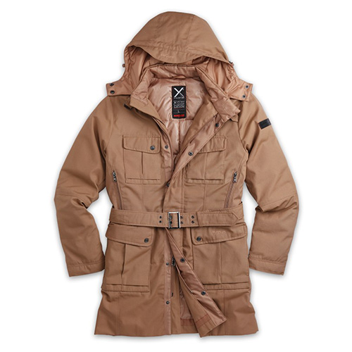 Kabát XYLONTUM zimní KHAKI SURPLUS 20-3521-15 L-11