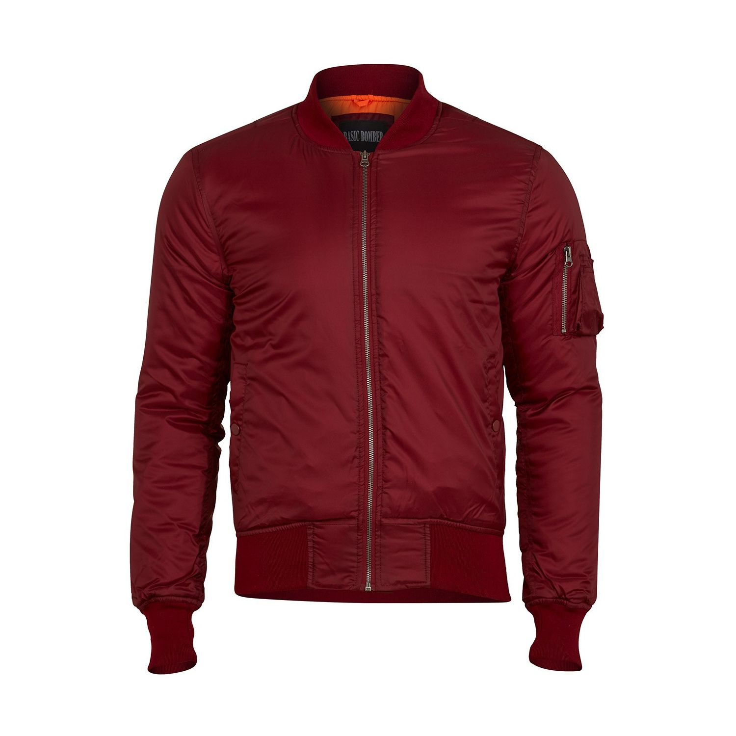 Bunda BOMBER MA1 basic VÍNOVÁ BORDEAUX SURPLUS 20-3530-11 L-11