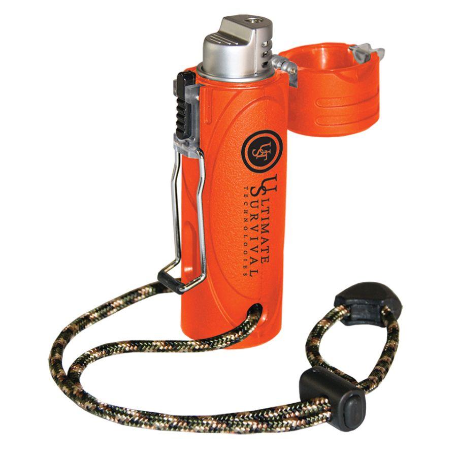 Zapalovač plynový Trekker™ větru a vodě odolný ORANŽOVÝ