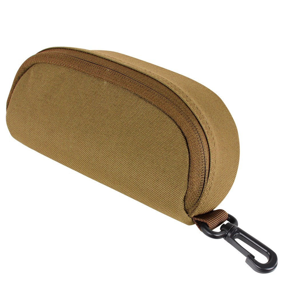 CONDOR OUTDOOR Pouzdro MOLLE na brýle COYOTE BROWN