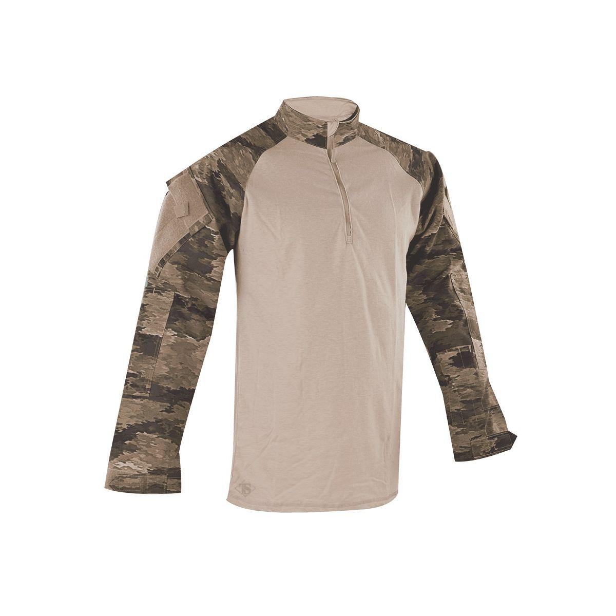 Košile taktická COMBAT TRU 1/4 ZIP A-TACS iX™ TRU-SPEC 25030 L-11