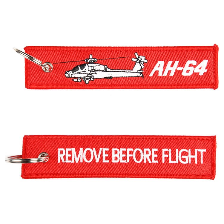 Klíčenka REMOVE BEFORE FLIGHT / AH-64