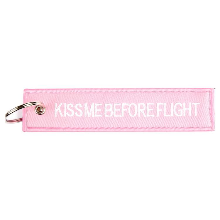 Klíčenka KISS REMOVE FLIGHT RŮŽOVÁ