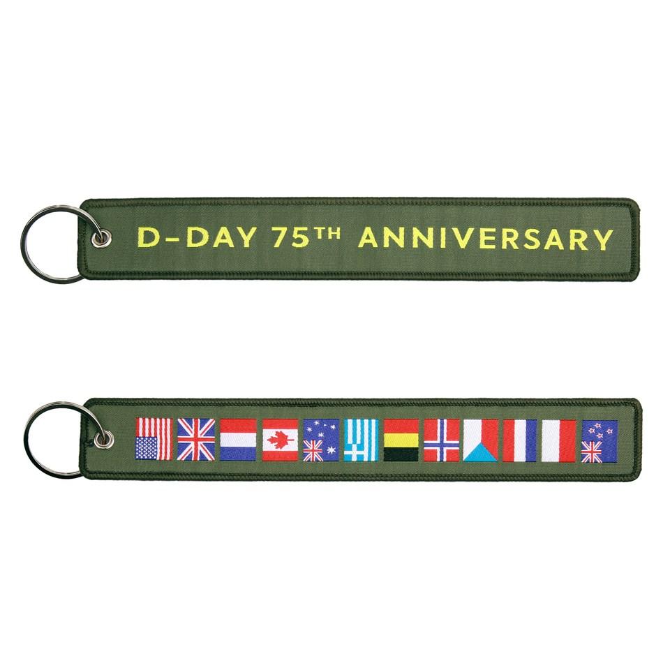 Klíčenka D-DAY 75. výročí ZELENÁ