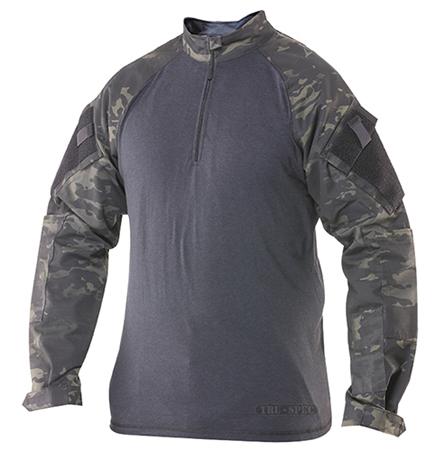 Košile taktická COMBAT TRU 1/4 ZIP MULTICAM BLACK® TRU-SPEC 25390 L-11