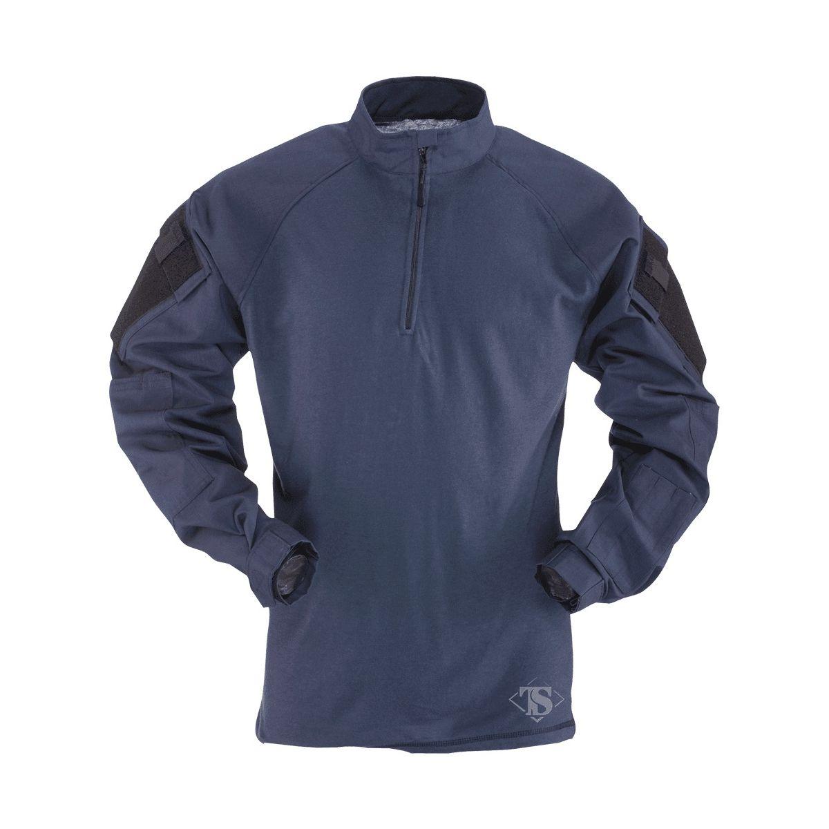 Košile taktická COMBAT TRU 1/4 ZIP MODRÁ (NAVY) TRU-SPEC 25490 L-11