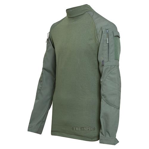 Košile taktická COMBAT rip-stop ZELENÁ TRU-SPEC 25530 L-11