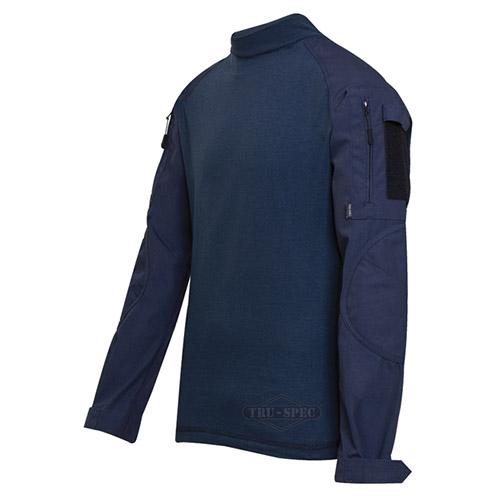 Košile taktická COMBAT rip-stop MODRÁ TRU-SPEC 25550 L-11