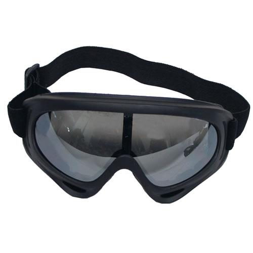 MFH int. comp. Brýle ARBER čiré proti sněhu orámování ČERNÉ
