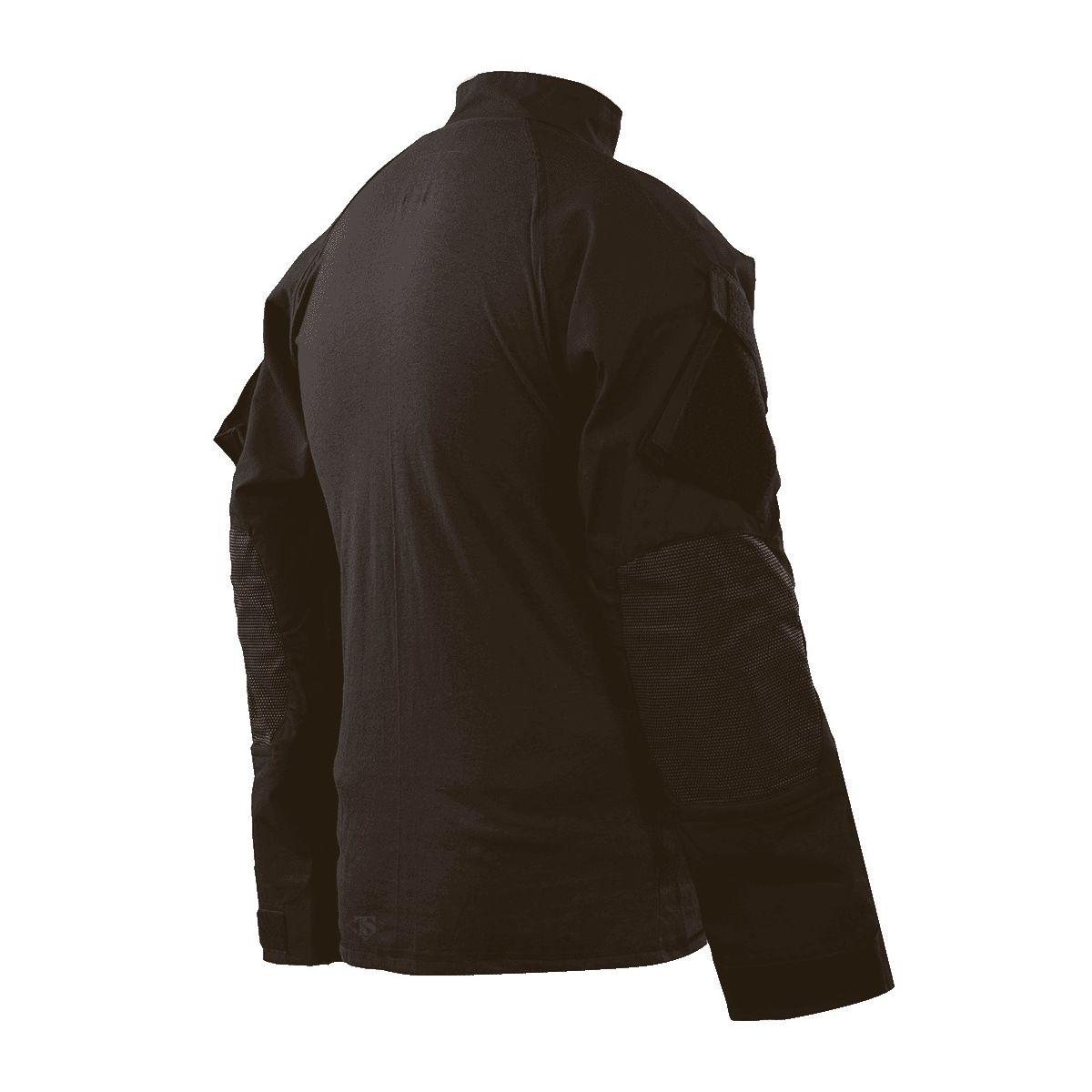 Košile taktická COMBAT TRU XTREME rip-stop ČERNÁ TRU-SPEC 25720 L-11