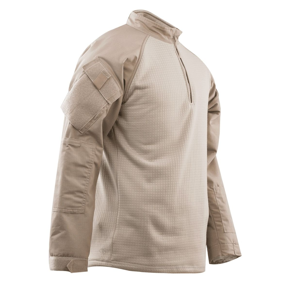 Košile taktická 1/4 zip COLD WEATHER KHAKI TRU-SPEC 2589000 L-11