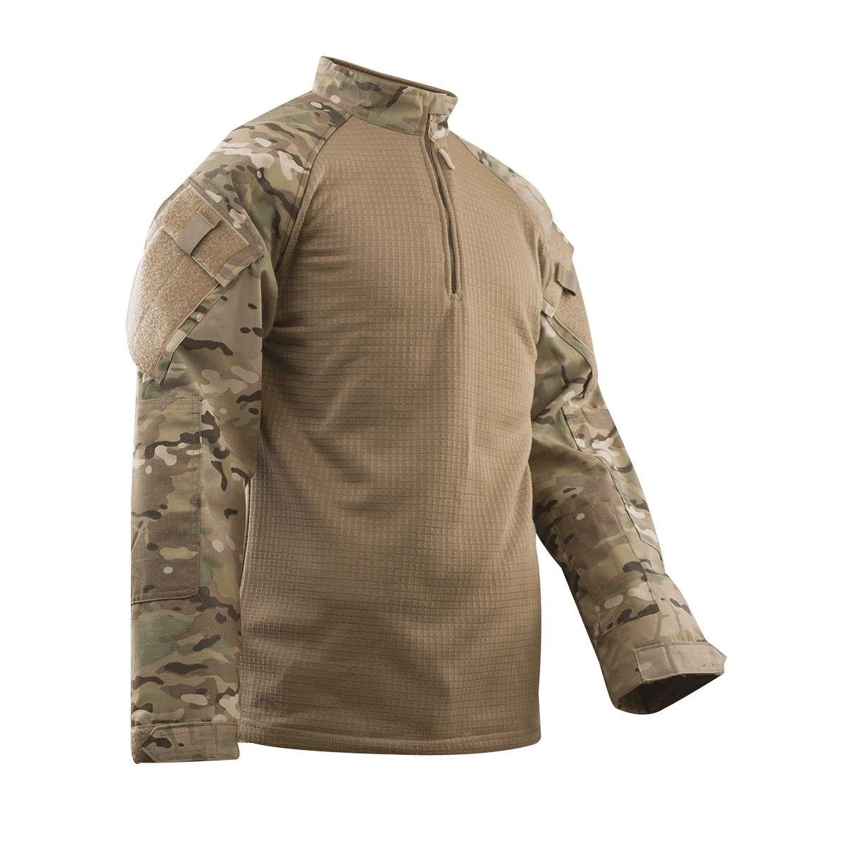 Košile taktická 1/4 zip COLD WEATHER MULTICAM® TRU-SPEC 25920 L-11