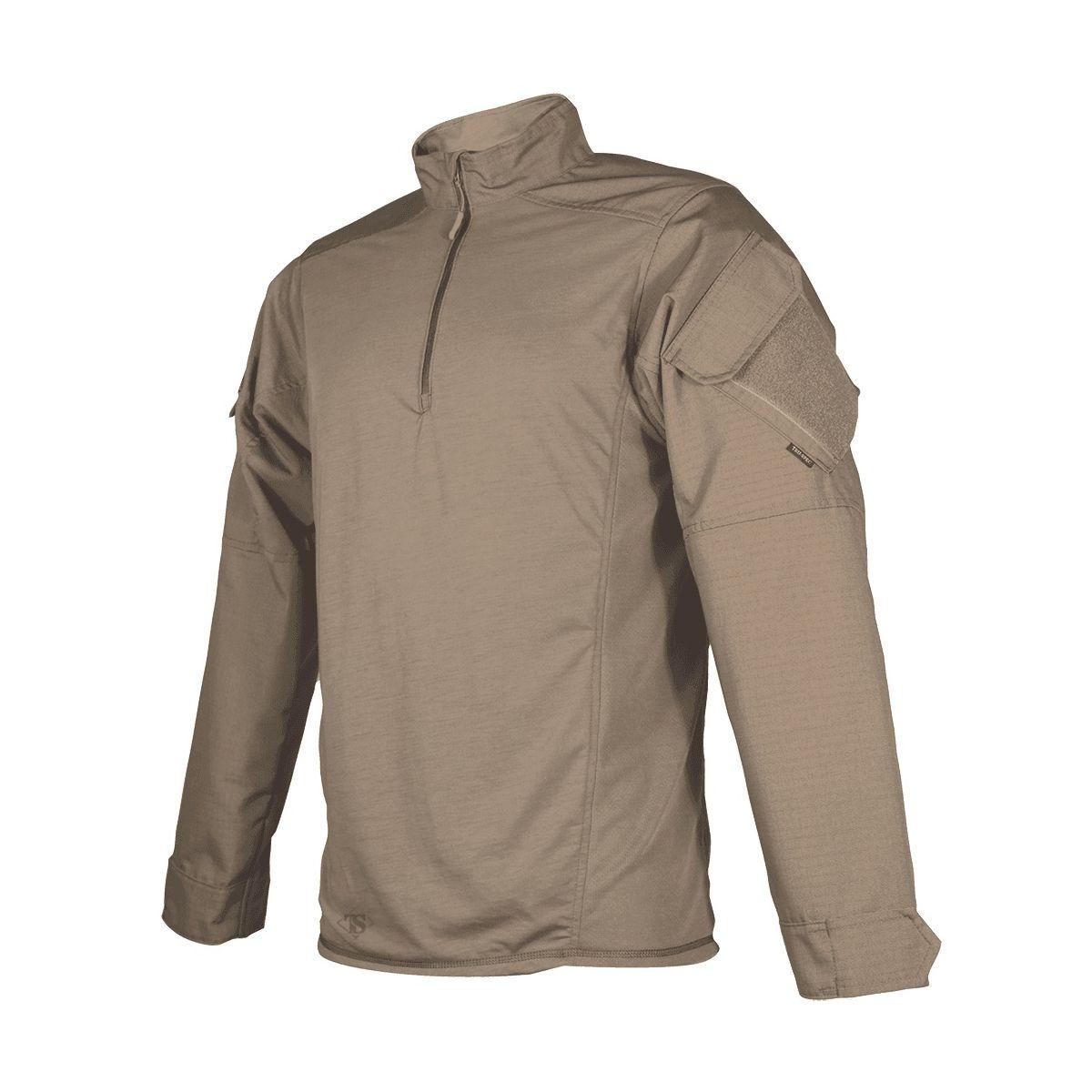 Košile taktická URBAN FORCE TRU 1/4 ZIP HNĚDÁ TRU-SPEC 25980 L-11