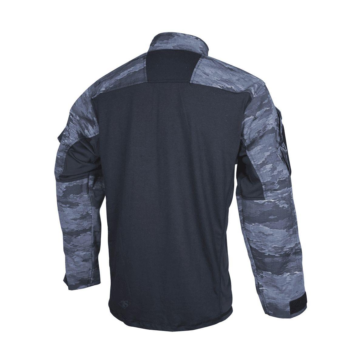 Košile taktická URBAN FORCE TRU 1/4 ZIP A-TACS LE-X TRU-SPEC 26000 L-11