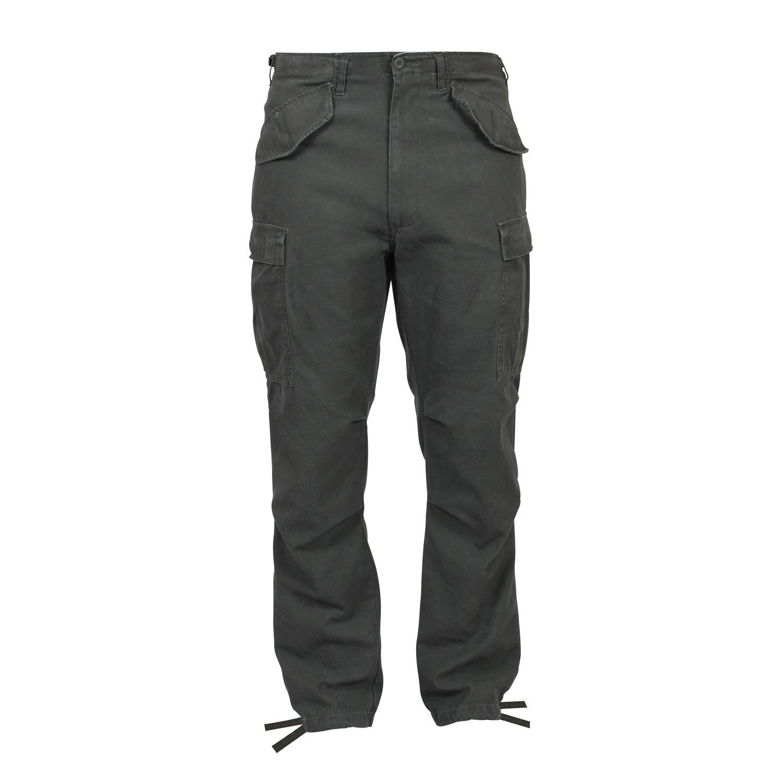 ROTHCO | Kalhoty VINTAGE US M65 FIELD ZELENÉ vel.XL