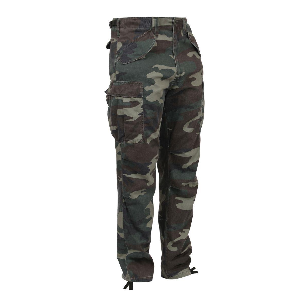 ROTHCO | Kalhoty VINTAGE US M65 FIELD WOODLAND vel.XL