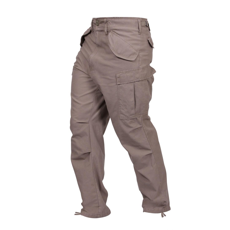 ROTHCO Kalhoty VINTAGE US M65 KHAKI vel.S