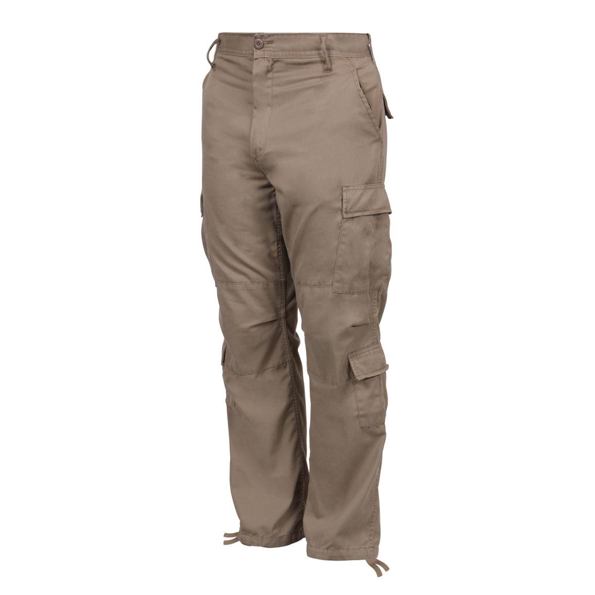 ROTHCO | Kalhoty VINTAGE PARATROOPER KHAKI
