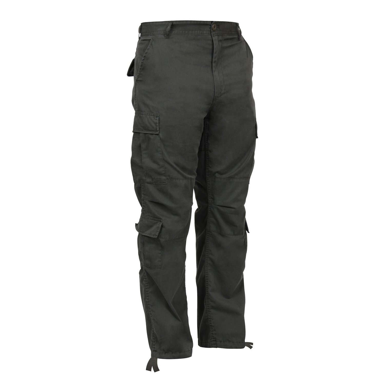 ROTHCO | Kalhoty VINTAGE PARATROOPER ZELENÉ
