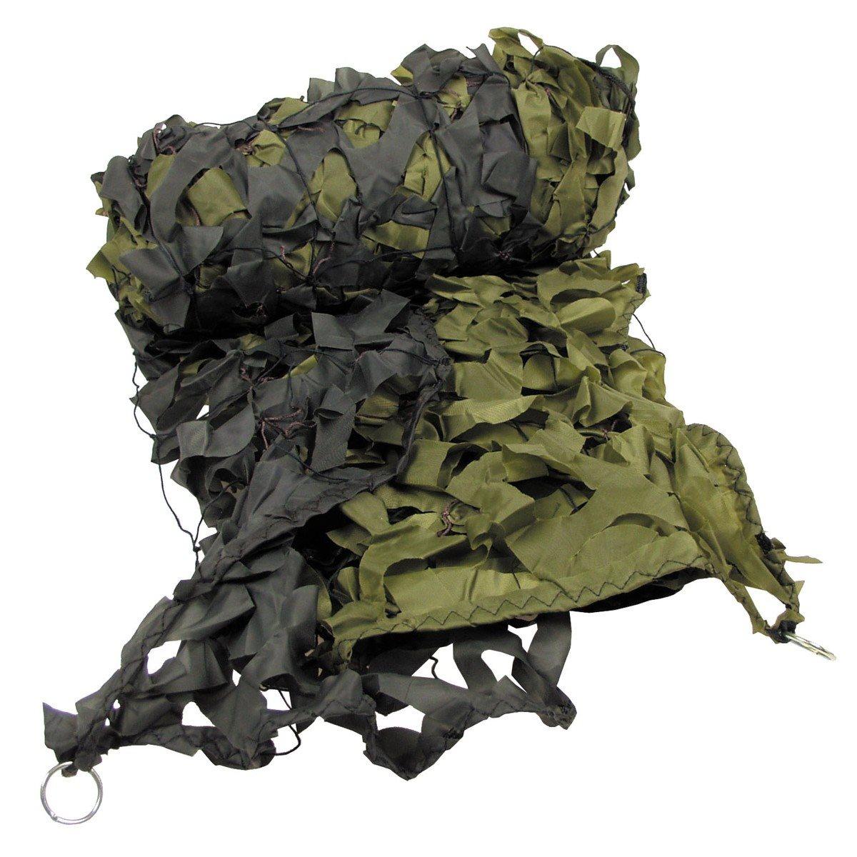 Síť maskovací + pytík PVC 3 x 2 m ZELENÁ
