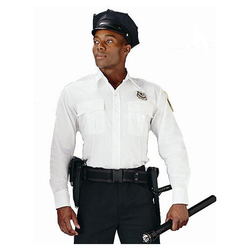 Košile POLICIE A SECURITY dl. rukáv BÍLÁ ROTHCO 30000 L-11