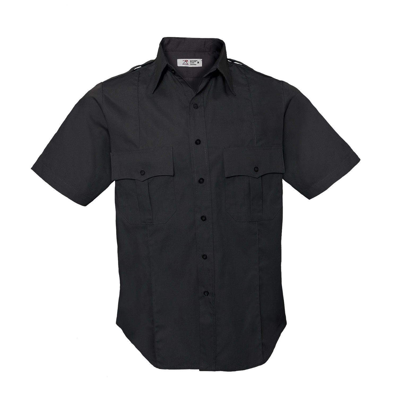 Košile POLICIE A SECURITY krátký rukáv NÁM.MODRÁ ROTHCO 30020 L-11