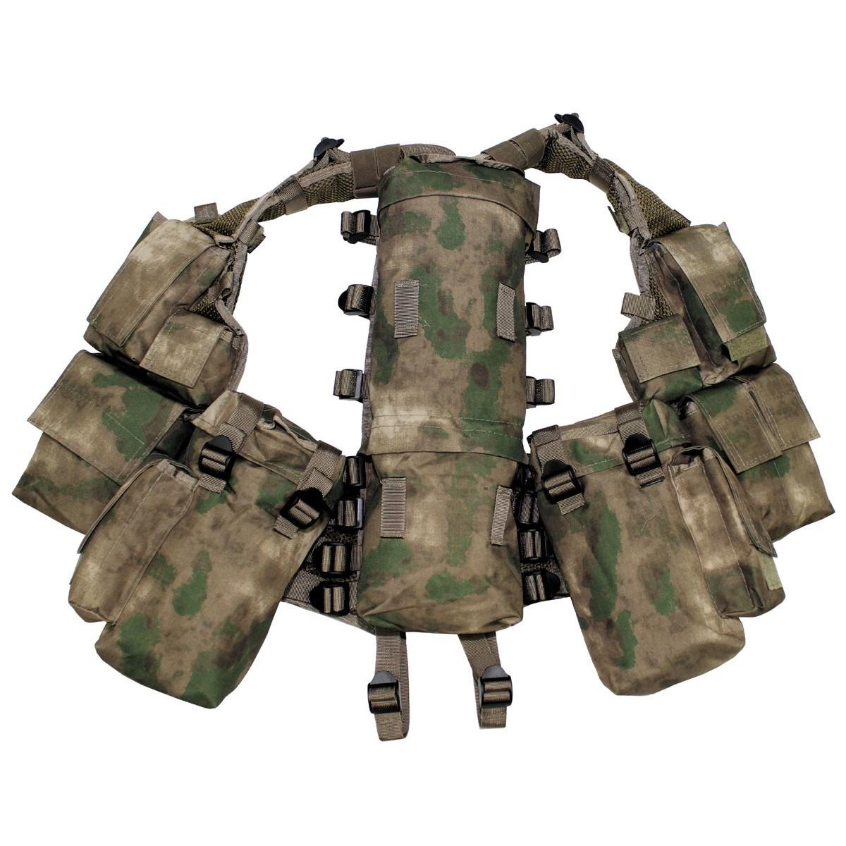 MFH int. comp. Vesta taktická s 12 kapsami HDT-camo FG