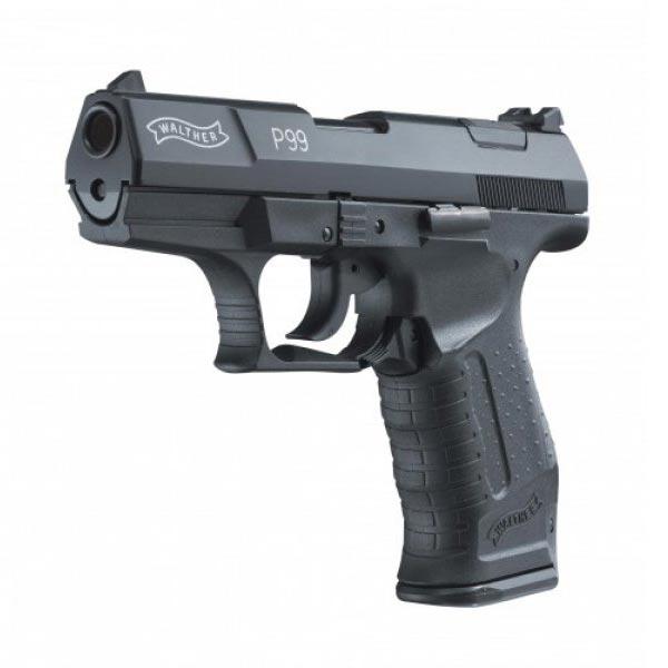 WALTHER | Pistole plynová Walther P99 cal.9mm ČERNÁ