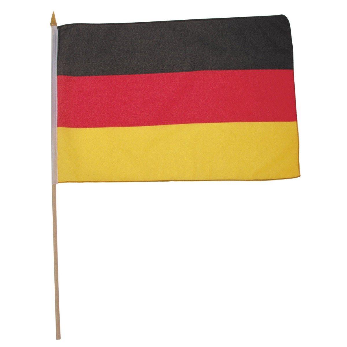 Vlajka NĚMECKO dřevěná tyčka 30 x 45cm
