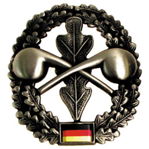 Odznak BW na baret ABC-Abwehrtruppe kovový