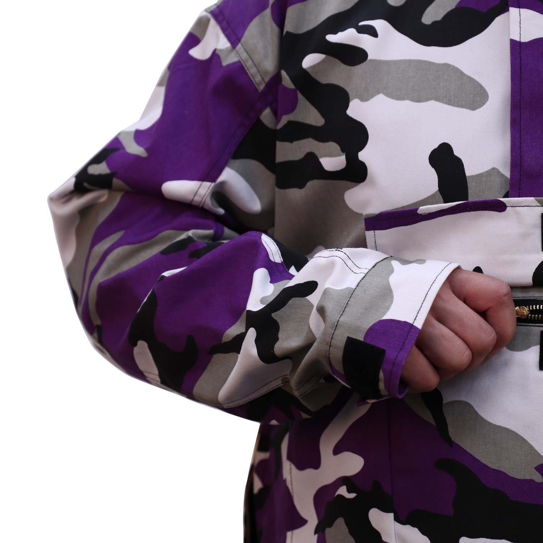 Bunda s kapucí PARKA US VIOLET CAMO ROTHCO 3647 L-11