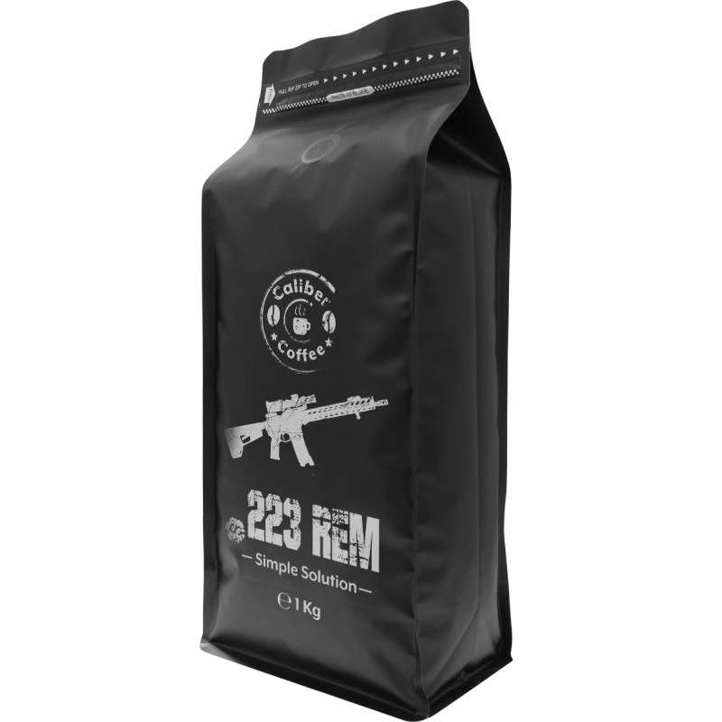 Káva CALIBER COFFEE .223 rem 1000g