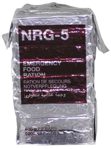 Nouzová dávka potravy NRG-5 500 g  30200 L-11
