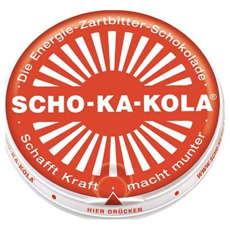 Čokoláda energetická Scho-Ka-Kola hořká 100g  40500S L-11