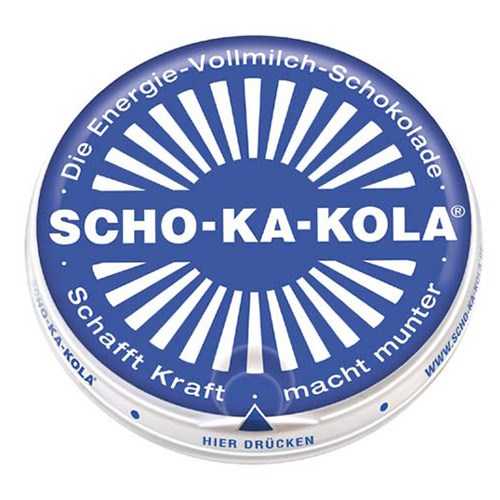 Čokoláda energetická Scho-Ka-Kola mléčná 100g  40505 L-11