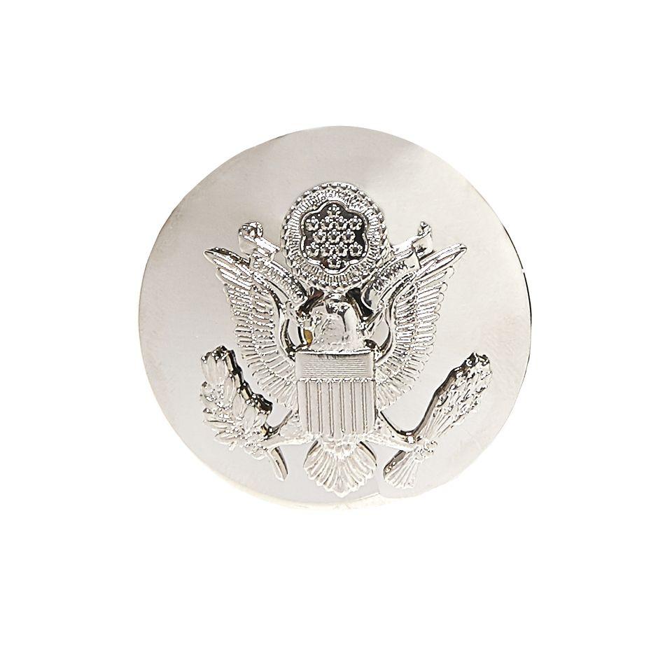 Odznak US AIR FORCE OFFICER čepicový STŘÍBRNÝ