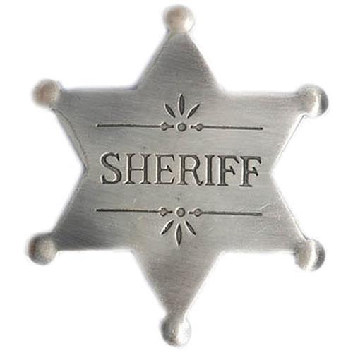 Odznak SHERIFF - hvězda