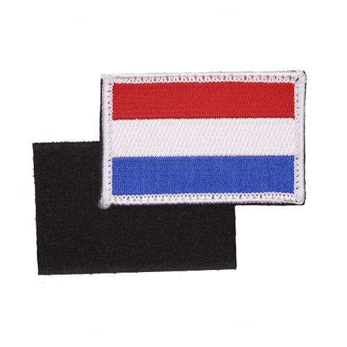 Nášivka vlajka HOLANDSKO/NIZOZEMÍ VELCRO