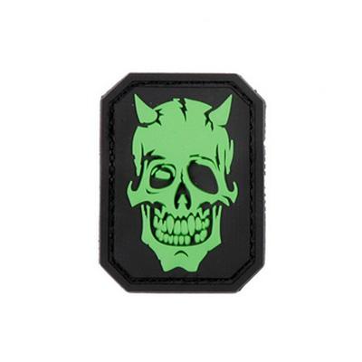 Nášivka 3D PVC Devil Skull