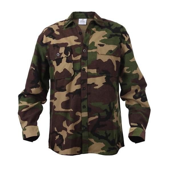 Košile flanelová WOODLAND ROTHCO 4659 L-11