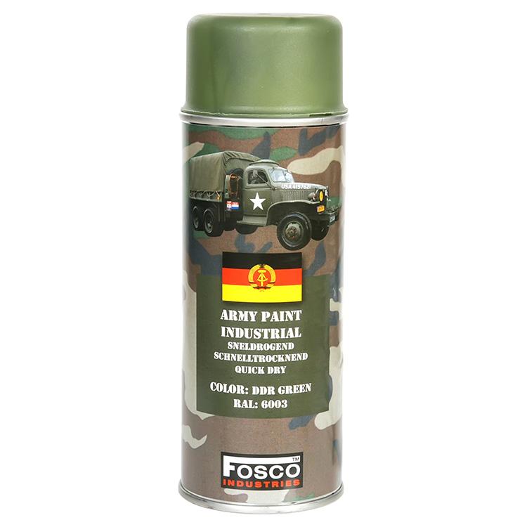 FOSCO Barva ARMY ve spreji 400ml RAL 6003 ZELENÁ DDR