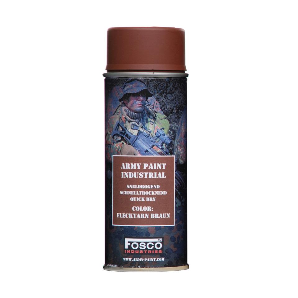 FOSCO Barva ARMY ve spreji 400ml FLECKTARN HNĚDÁ