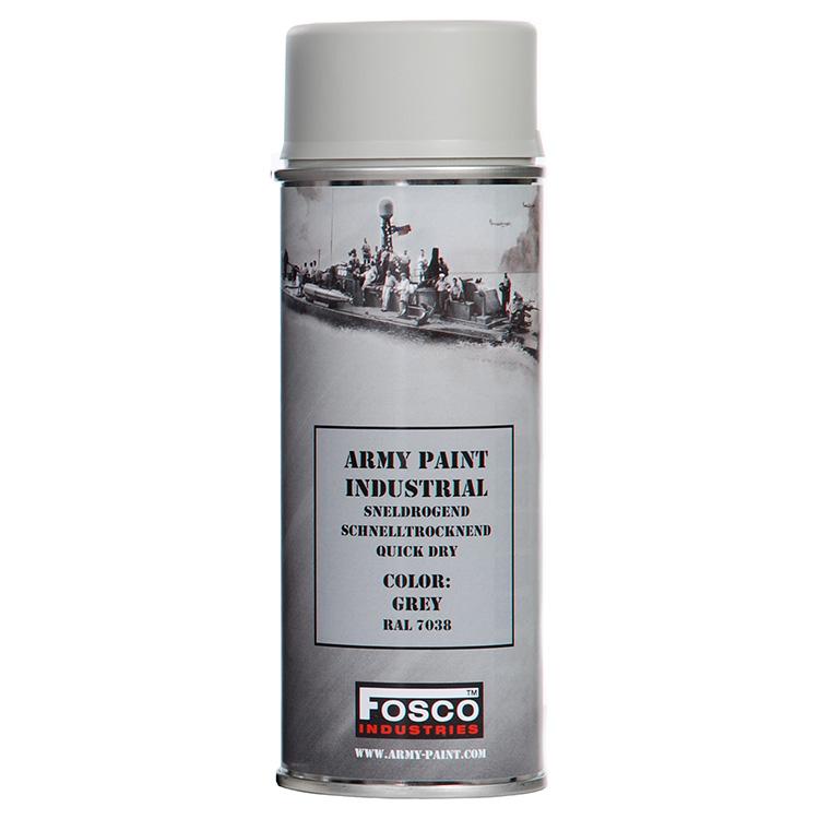 FOSCO Barva ARMY ve spreji 400ml RAL 7038 ŠEDÁ