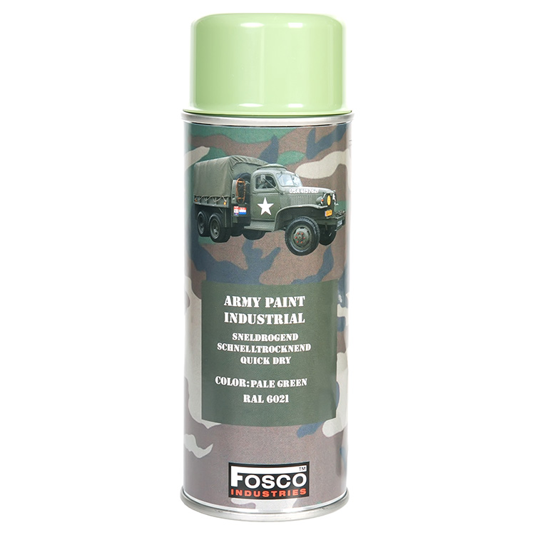 FOSCO Barva ARMY ve spreji 400ml RAL 6021 SVĚTLE ZELENÁ
