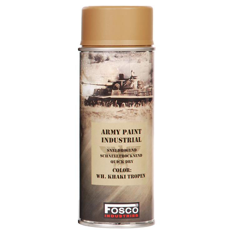 FOSCO Barva ARMY ve spreji 400ml WH KHAKI TROPEN