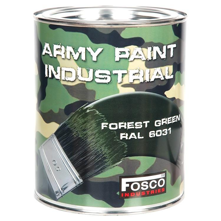 FOSCO Barva ARMY nátěrová 1l RAL 6031 ZELENÁ LESNÍ
