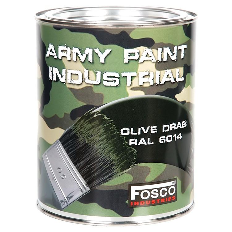Barva ARMY nátěrová 1l RAL 6014 OLIVOVÁ